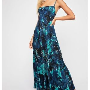 Free People Nellie Printed Maxi Dress